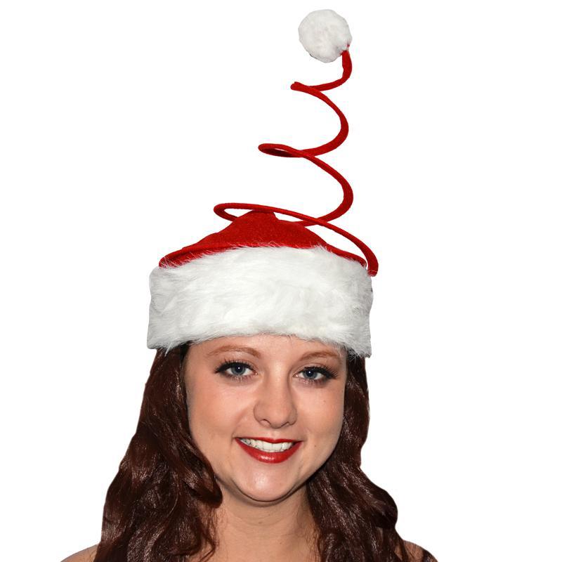 Bonnet de Père Noël ressort pas cher