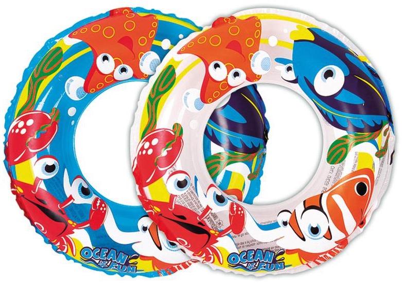 Bouée décorée poissons