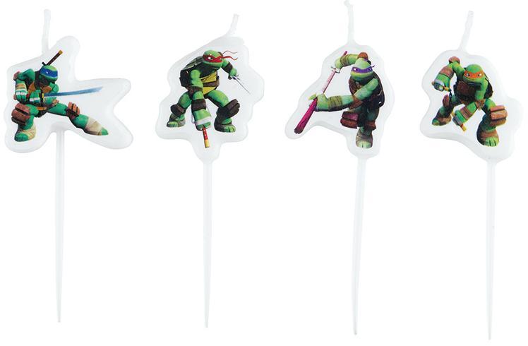 Bougies Anniversaire Tortues Ninja pas cher
