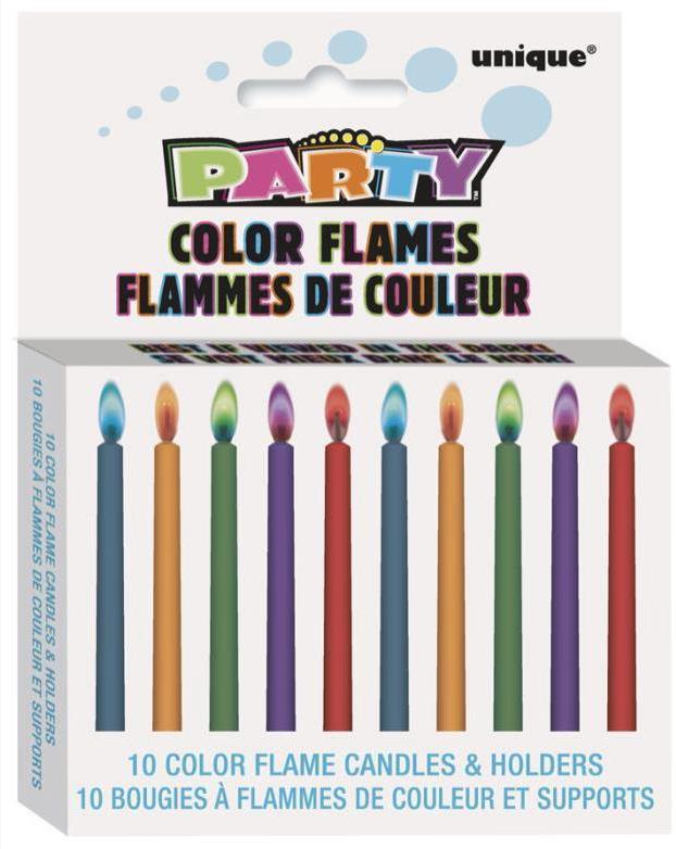 Bougies Flamme Colorée pas cher