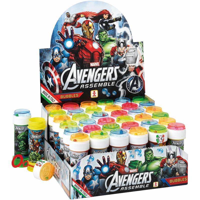 Bulle de savon + jeu de patience Avengers pas cher