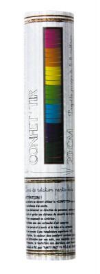 Canon à confettis multicolore 20 cm pas cher