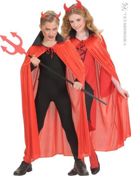 Cape halloween diable enfant pas cher