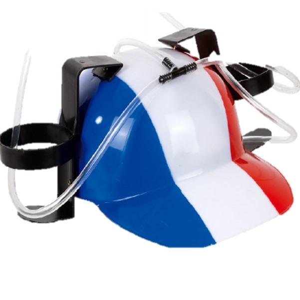 Casque France avec porte gobelet pas cher