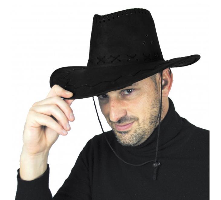 Chapeau cowboy Texas noir pas cher