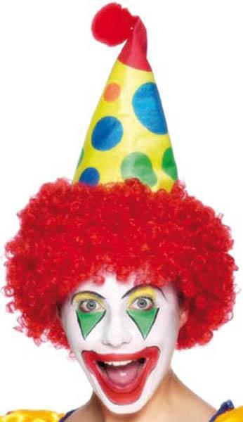 Chapeau de clown pour adulte pas cher