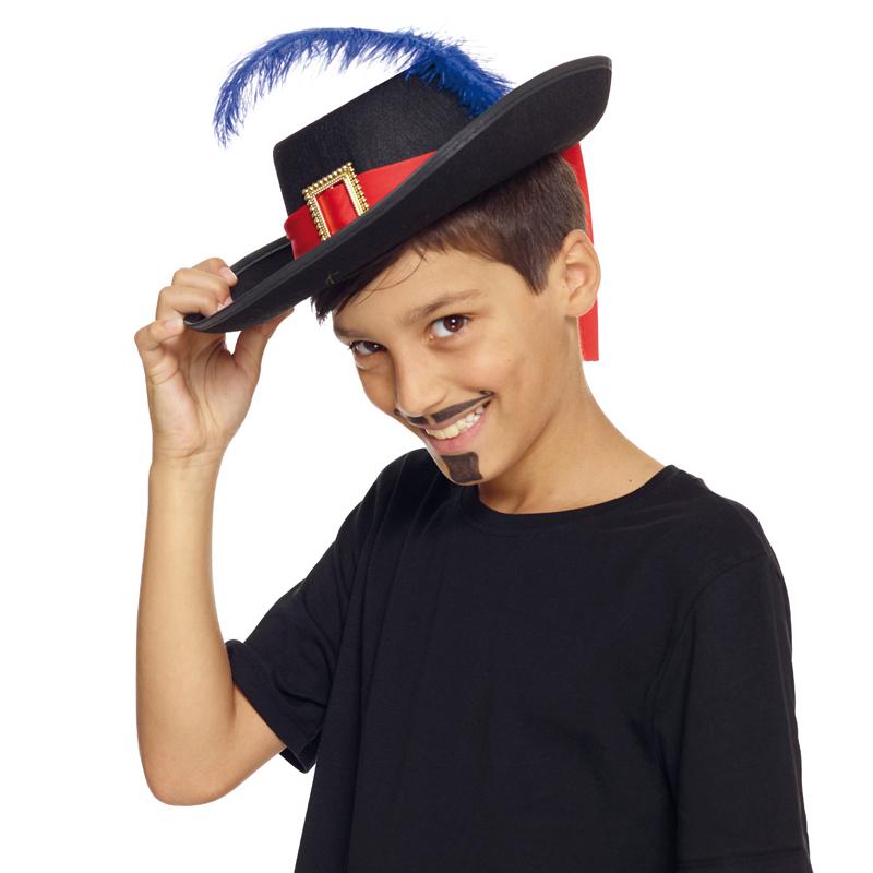 Chapeau mousquetaire pour enfant pas cher