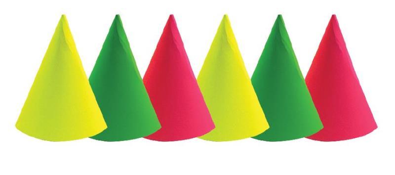 Chapeau Petit Modèle Fluorescent pas cher