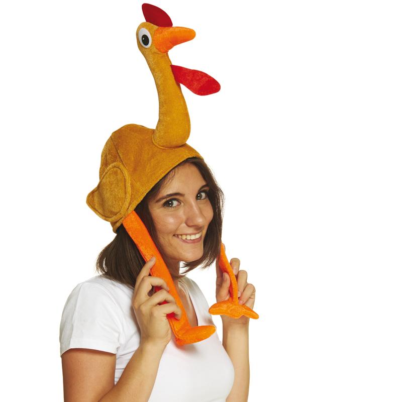 Chapeau poulet adulte pas cher