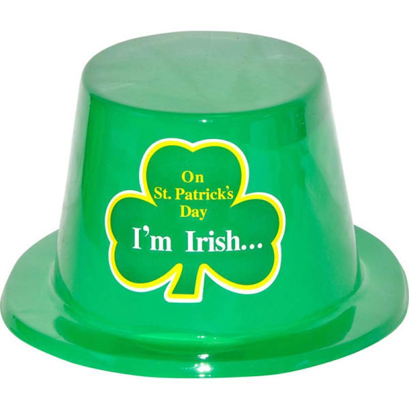 Chapeau Saint Patrick plastique
