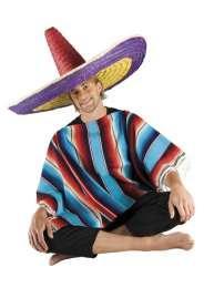 Chapeau Sombrero Multicolore pas cher