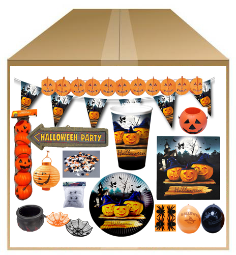 Coffret Halloween luxe pas cher