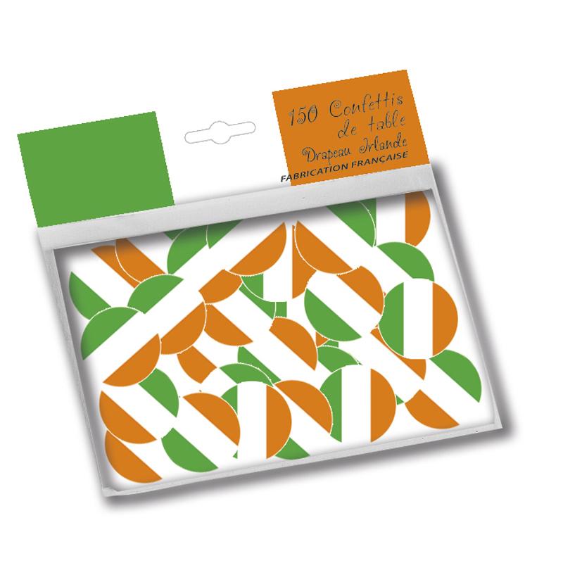 Confettis de table drapeau irlande pas cher