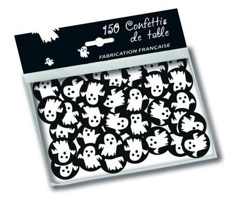 Sachet de confettis de table fantôme