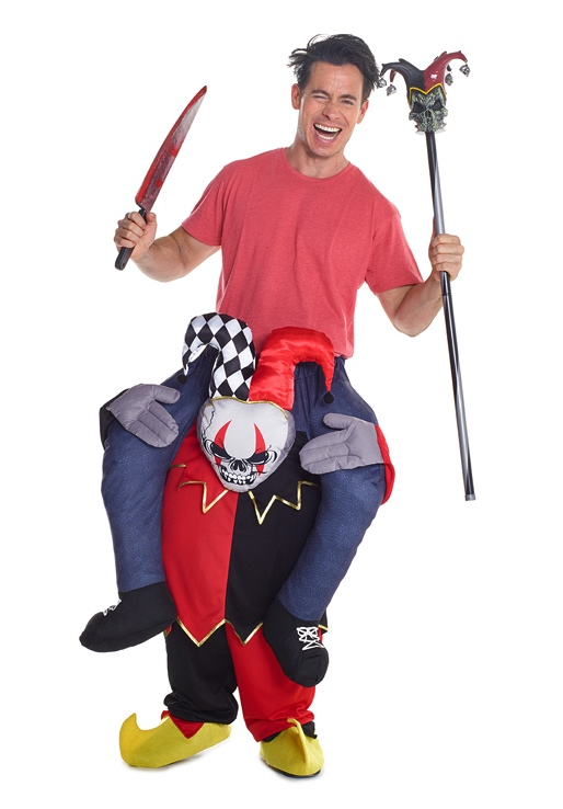Costume à dos de joker adulte pas cher