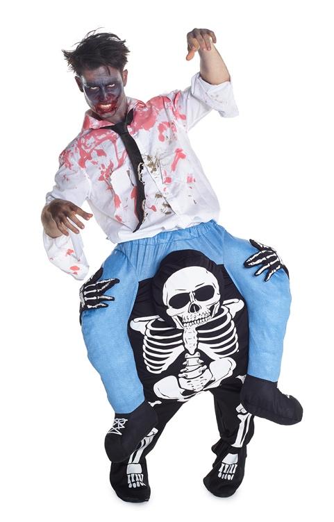 Costume à dos de squelette adulte pas cher