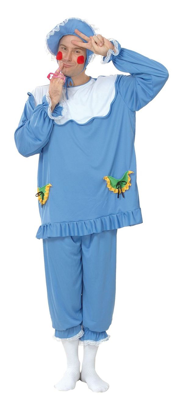 Costume bebe bleu adulte pas cher