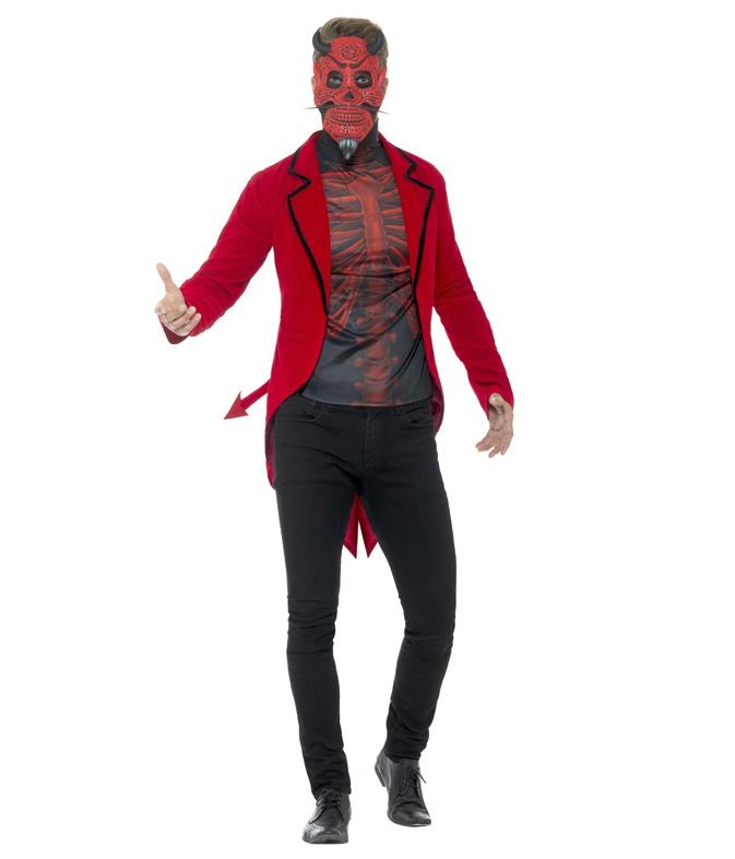 Costume Diable Dia De Los Muertos pas cher