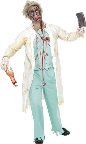 Déguisement Docteur Zombie pas cher