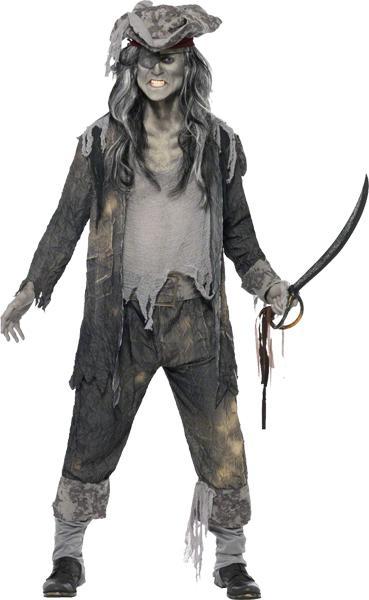 Déguisement fantôme de Pirate Homme pas cher