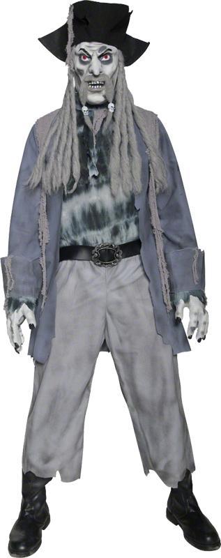 Déguisement Zombie Fantôme Pirate pas cher