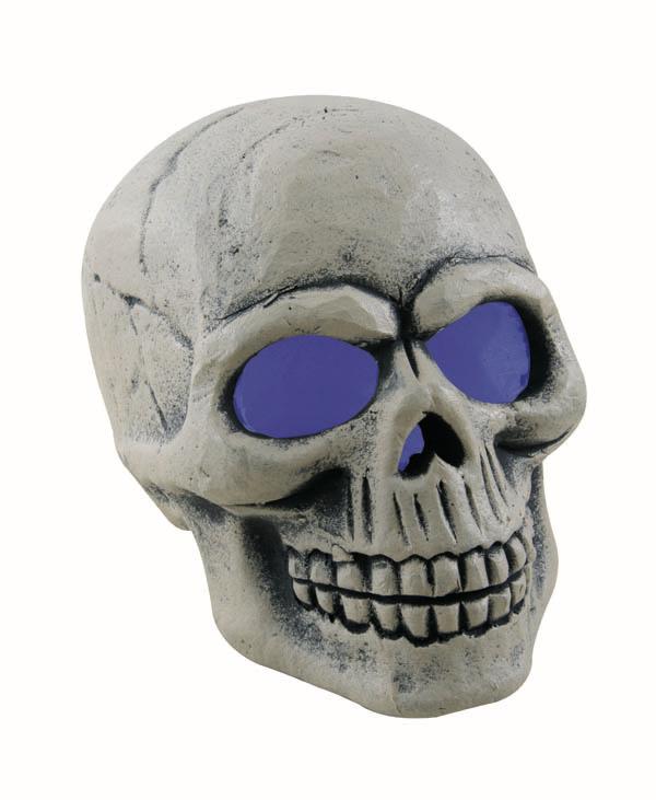 Décoration crâne lumineux