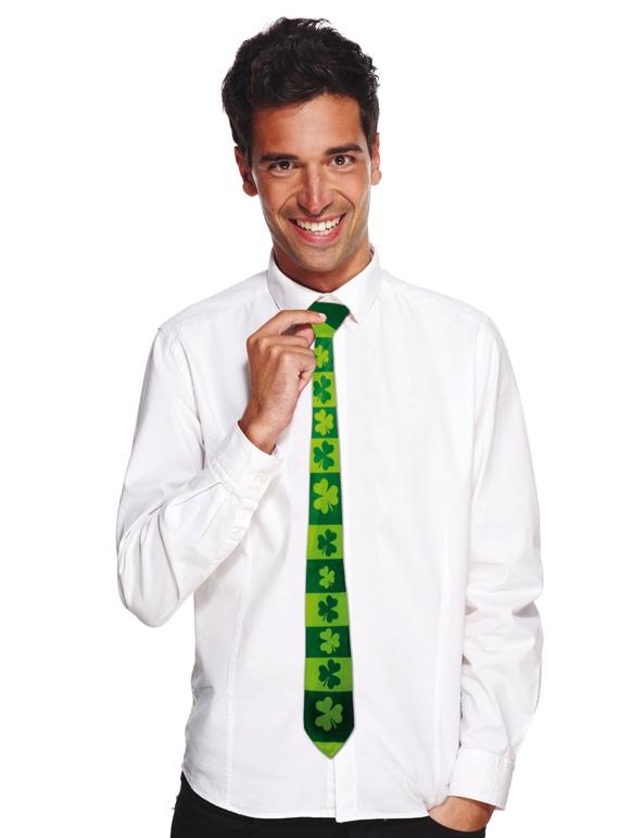 Cravate trèfles Saint Patrick pas cher