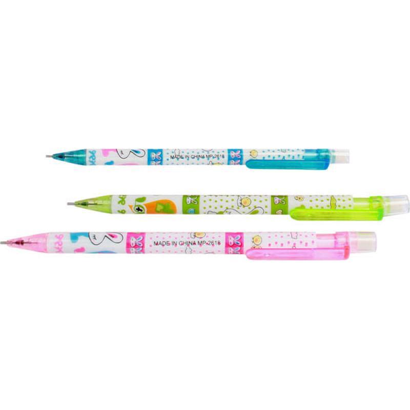 Crayon pousse mine avec gomme pas cher