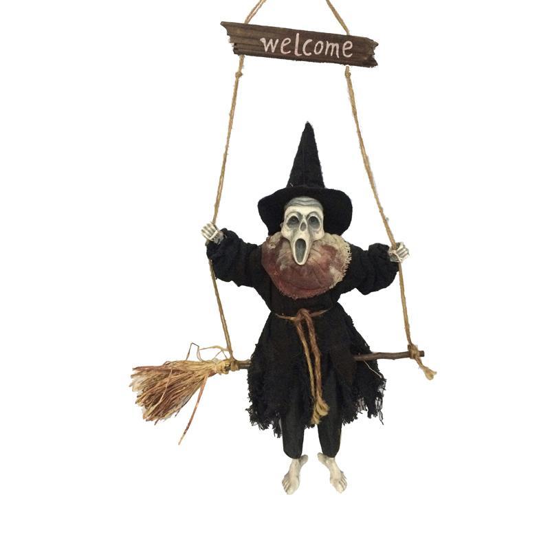 Halloween : décoration de fantôme suspendu