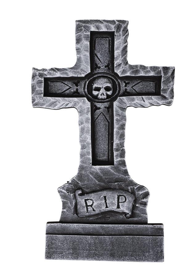 Décoration pierre tombale pour Halloween pas cher
