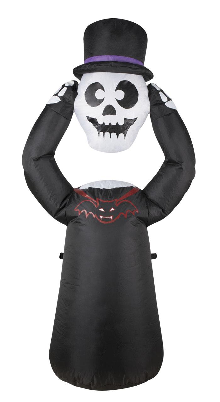 Décoration squelette gonflable pour halloween