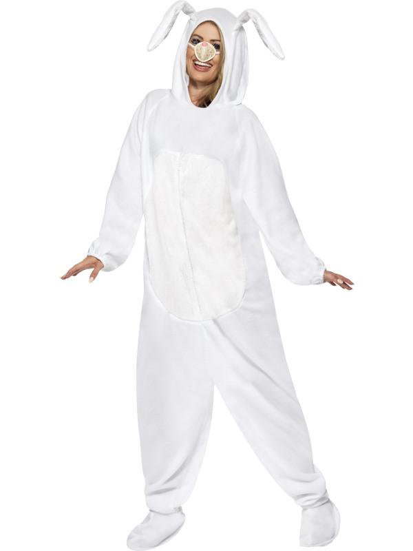 Déguisement bunny girl blanc pas cher