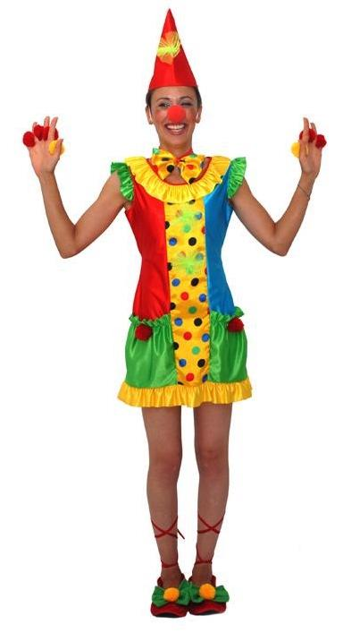 Déguisement Clown Femme Rigolo pas cher