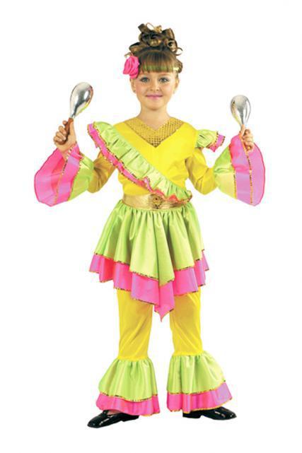 Déguisement Danseuse Brésilienne pour enfant pas cher