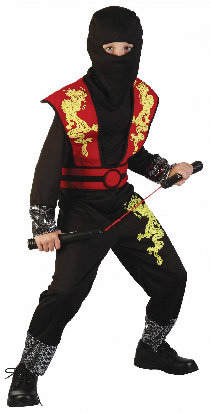 Déguisement Enfant Ninja Luxe pas cher