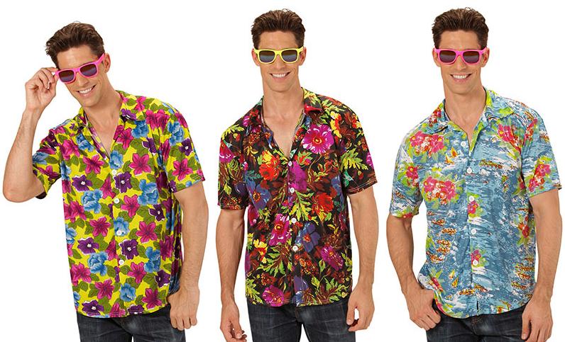 Déguisement hawaïen pour homme pas cher