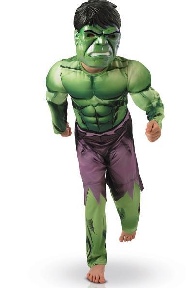 Déguisement Hulk Avengers pour enfant pas cher
