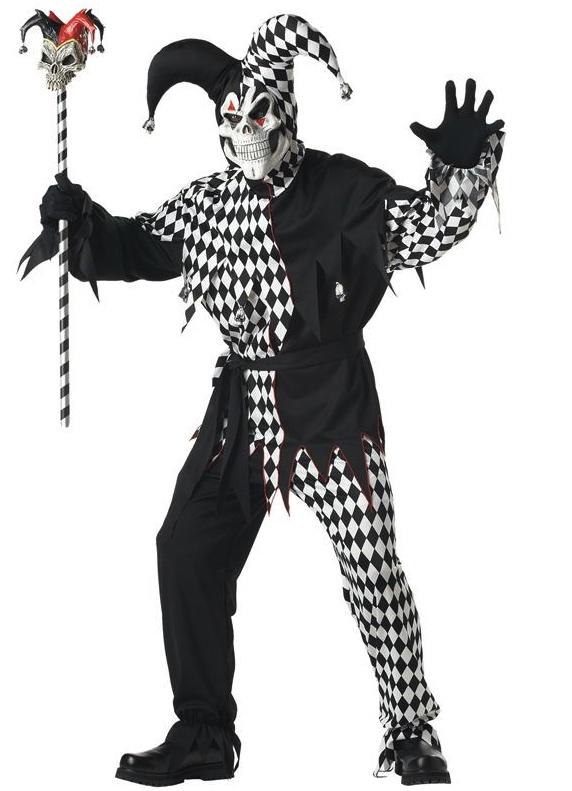 Déguisement Joker Maléfique Noir pas cher