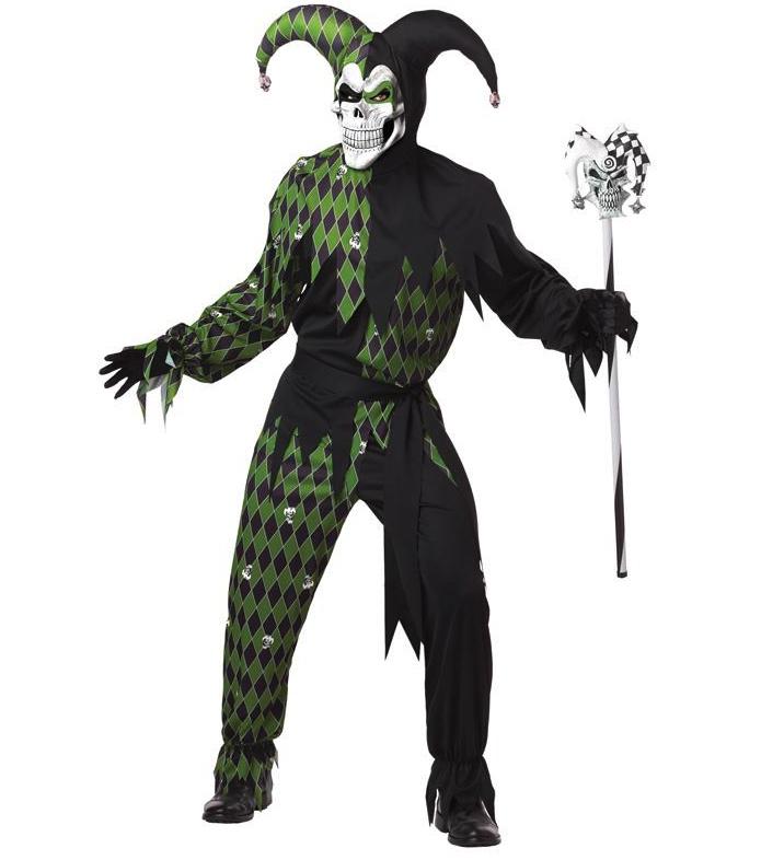 Déguisement Joker Maléfique Vert pas cher