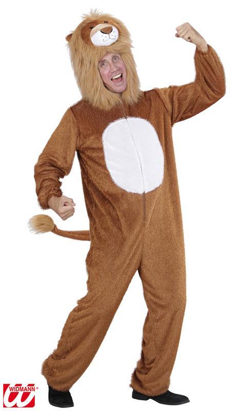Déguisement Lion Peluche homme pas cher