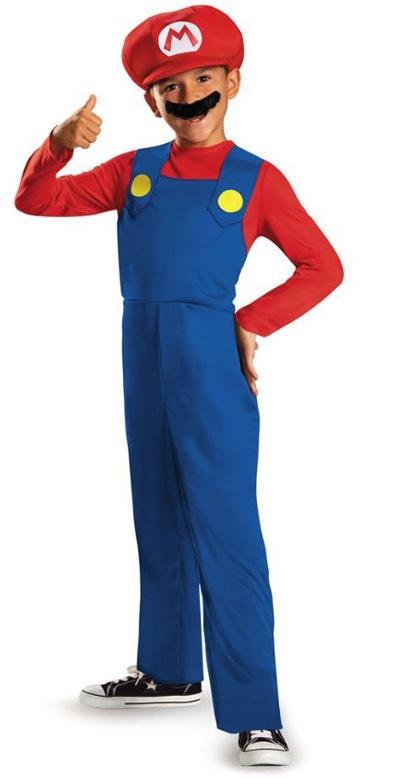 Déguisement Mario enfant pas cher