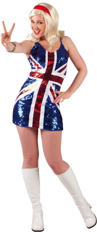 Déguisement Miss UK pas cher