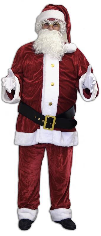 Déguisement Père Noël Américain Luxe pas cher