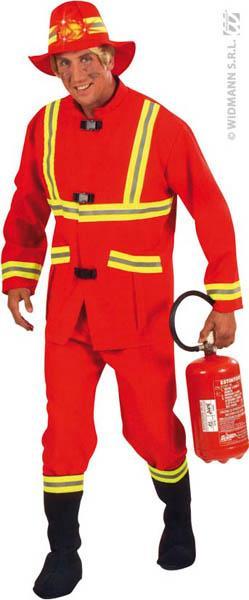 Déguisement pompier adulte pas cher