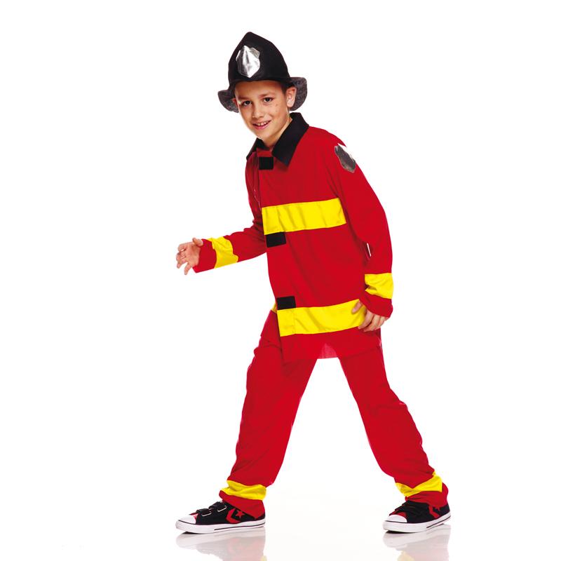 Déguisement Pompier US garçon pas cher