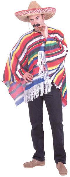 Déguisement poncho Mexicain pas cher
