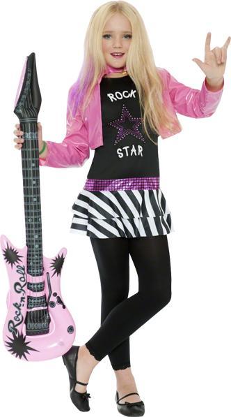 Déguisement Rock Star fille pas cher