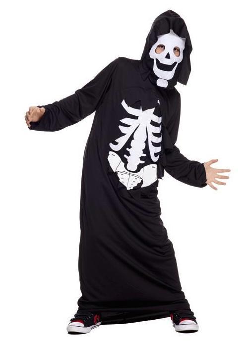 Déguisement Squelette avec masque pas cher