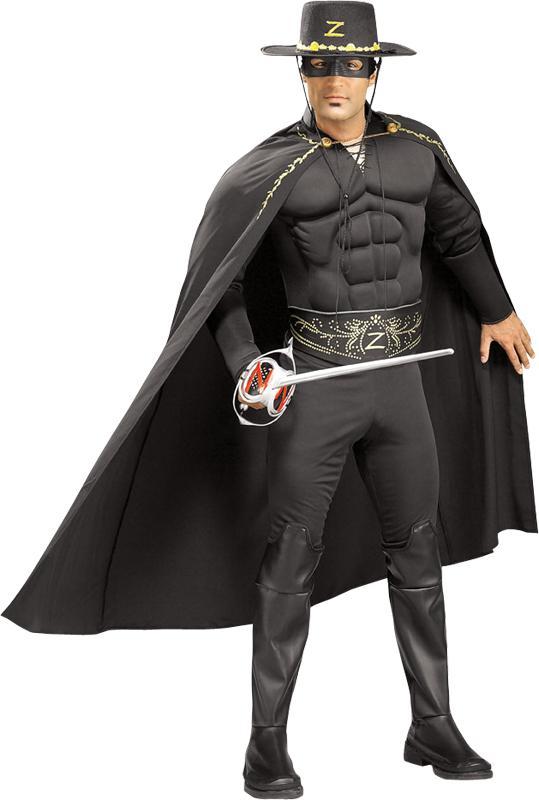 Déguisement Zorro musclé pas cher