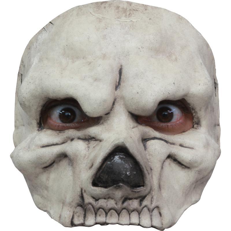 Demi masque latex Crane Blanc pas cher